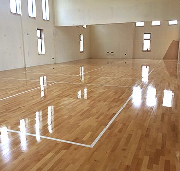 Sportshall featuredImage 1 - Bespoke & Specialist Wood Floor Fitters