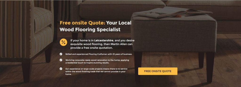 free quotation for wood flooring