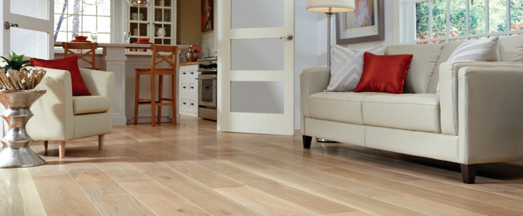 traditional straight plank flooring