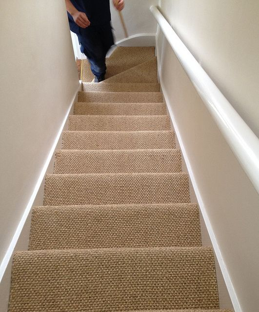 carpet staires - Add value to your home with a hallway, stairs and landing renovation project: Changing From Carpet to Real Wood