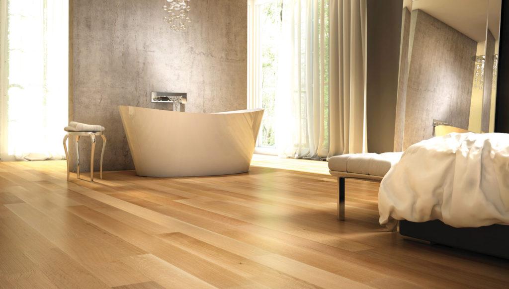 bedroom white oak hardwood flooring 1024x582 - Introduction to Wood Species: Oak